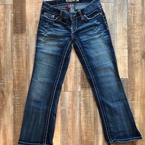 BKE Stella Flare Crop Jean Pants